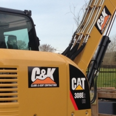 Caterpillar digger CAT 308E