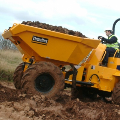 Six tonne dumper for hire